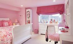 Girl's Bedroom in Omaha Residence. http://www.kurtjohnsonphotography.com/