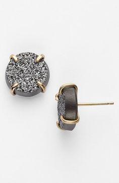 Melissa Joy Manning Drusy Stud Earrings | Nordstrom