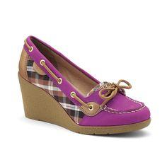 I have never seen high heel Sperrys.....