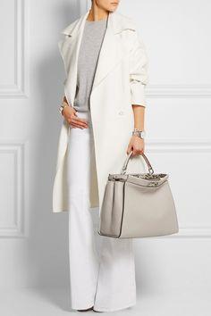 Fendi Peek-a-boo tote Chic Outfits, Fashion Outfits, Womens Fashion, Moda Lolita, Look Office, Estilo Fashion, Fashion Vocabulary, Work Attire, Mode Style