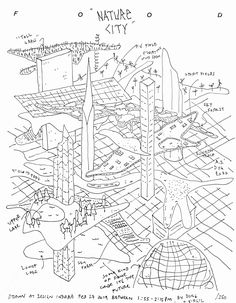 Dong-Ping Wong and Virgil Abloh design a city in 15 minutes Virgil Abloh, How To Plan, City, Architectural Sketches, Illustrations, Design Ideas, Models, Drawing, Poster