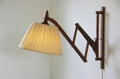 Vintage Danish scissor lamp ($216, via Etsy)