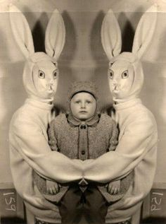 scary easter bunny - Google Search