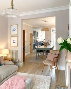 Victorian Living Room, Eat In Kitchen, Open Up, Living Room Designs, Home And Garden, New Homes, Dining Room, Lounge, Interior Design