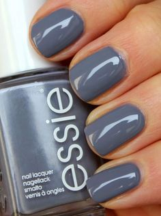 Essie Petal Pushers - This is IT. I finally found my suitable grey! Amen! More