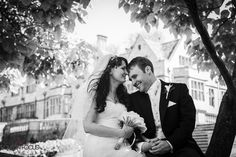 Coombe Lodge Bristol Black & White Wedding Photography by Love In Focus
