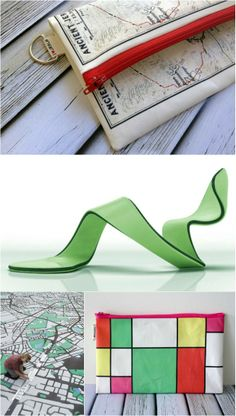 Printed Map Wallets from Israel