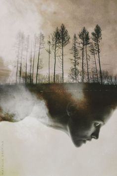 "Self-portrait: ""THE DAY AFTER MY FUNERAL"" by NataliaDrepina.deviantart.com on @deviantART"