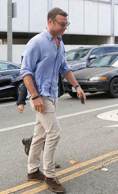 Liev Schreiber Photos: Naomi Watts Out with Her Husband