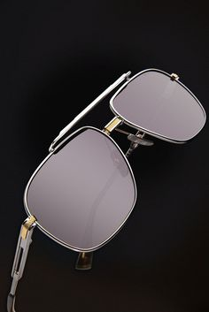 The Dita Victoire in Silver and Gold #DITAeyewear