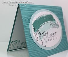 Wetlands 3 - Stamp With Amy K
