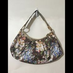 Floral Lesportsac Limited Edition Bamboo Details Worn once.  In basically perfect condition.  Perfect purse for spring and summer.  Happy to answer questions. LeSportsac Bags Shoulder Bags