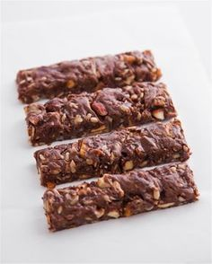 Μπάρες με ταχίνι Sweets Recipes, Candy Recipes, Cooking Recipes, Healthy Desserts, Easy Desserts, Healthy Food, Healthy Recipes, Food Network Recipes, Food Processor Recipes
