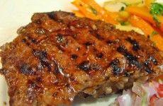 Herb-Pepper Sirloin Steak- dash diet recipes
