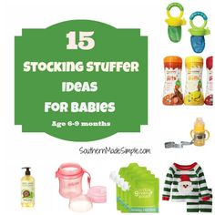 stocking stuffer ideas for babies 6 9 months baby christmas