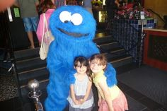 WMMS 6/19/2013 at our York Theatre.  Cookie Monster came to visit.