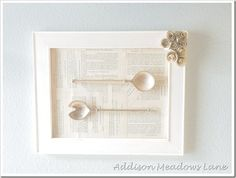 diy spoon wall art, crafts, diy, wall decor