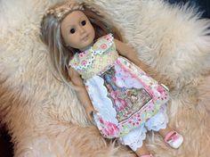 American Girl Waldorf doll clothes ARTSY ooak by judysdollboutique