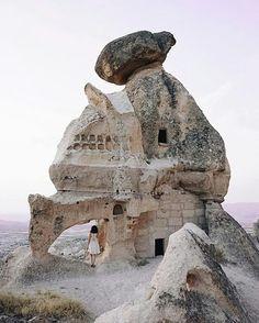 Fairy Chimneys, #Goreme National Park, Nevşehir (Photo: barkinozdemir)