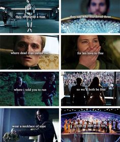 This is pretty cool! Hunger games hanging tree Hunger Games Series, Hunger Games Catching Fire, Divergent Hunger Games, Hunger Game Quotes, Gale Hunger Games, Hunger Games Mockingjay, Hunger Games Fandom, Mocking Jay, Katniss Everdeen