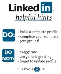 There is a difference between simply having a profile on LinkedIn and actually knowing how to use it.