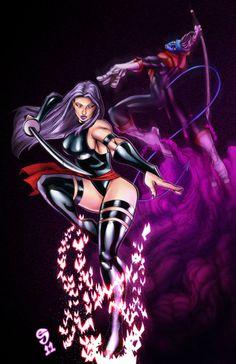 Psylocke and Nightcrawler