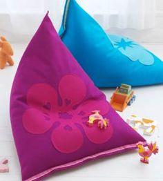 DIY felt beanbag by Ariadne at Home