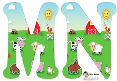 Oh my Alfabetos!: Alfabeto de la Granja. Farm Animal Party, Farm Party, Farm Lessons, Farm Unit, Farm Birthday, Cute Little Baby, Horse Farms, Christmas Deco, Farm Animals