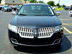 Black 2012 Lincoln MKZ. Napleton Autowerks Bourbonnais