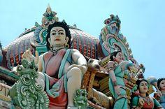 Sri Mariamman - A Hindu temple