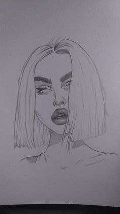 drawing of a girl - drawing of a girl + drawing of flowers + drawing of eyes + drawing of lips + drawing of hands + drawing of people + drawing of a boy + drawing of love Tumblr Girl Drawing, Girl Drawing Sketches, Tumblr Drawings, Cool Art Drawings, Girl Sketch, Pencil Art Drawings, Easy Drawings, Drawing Drawing, Tattoo Sketches
