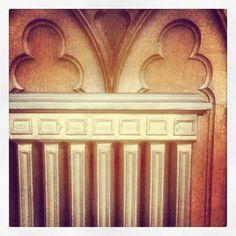 Radiator. Neo Gothic chapel. Exterior Design, Interior And Exterior, Radiators, Gothic, Castle, Curtains, Home Decor, Goth Subculture, Insulated Curtains