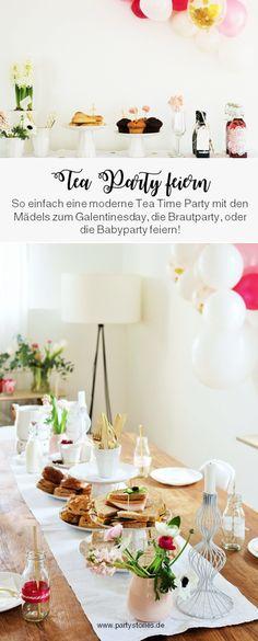 Suchst du kreative Deko Ideen für eine Babyparty, die Brautparty/den JGA, oder den Valentinstag mit den Freundinnen als Galentinesday-Party? Diese rosa Inspirationen einer Tea Time Party eignen sich für viele besondere Anlässe. So einfach kannst Du Dekoration, Partyfood & Geschenkideen mit den Mädels ganz schnell, günstig und als DIY/low-waste Variante gestalten. // partystories.de // #galentinesday #valentinstag #teatimearty #brautparty #jga #babyparty #geburtstag #mottoparty #muttertag… Beer Recipes, Home Brewing, Presents, Inspiration, Decor, Creative Ideas, Decorating Ideas, Girlfriends