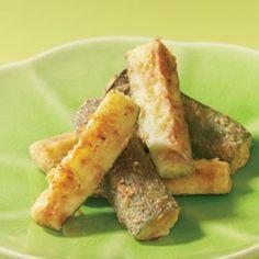oven fried zucchini sticks