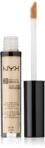 NYX Cosmetics Concealer Wand, Light  I'm so glad I found this concealer! I've spent so much money on high end concealers who knew this one is by far the best.