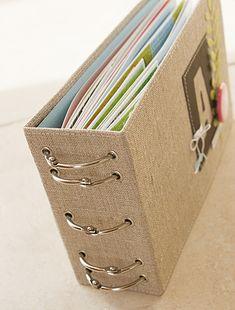 ring binder book binding ideas #BooksBinding