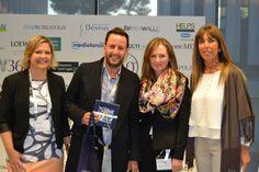 Con el ganador de uno de los Sorteos de  productos de FreyWille en el Congreso