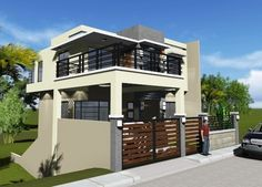 House Plan Purchase - Sets of Plan Blueprint Signed & Sealed) - Only Construction Contract: P M - Low-End/Budget P M - Mid-Range/Standard. House Fence Design, 2 Storey House Design, Simple House Design, Modern House Design, New Home Construction, Construction Contract, Modern Zen House, Home Design Plans, Apartment Design