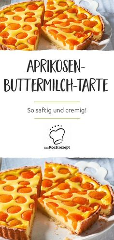 This apricot buttermilk tart tastes totally juicy and creamy. cooking recipe and cake Mhmm yummy! This apricot buttermilk tart tastes totally juicy and creamy. Healthy Chicken Recipes, Healthy Dinner Recipes, Crockpot Recipes, Breakfast Recipes, Cooking Recipes, Tart Taste, Panna Cotta, Tart Recipes, Casserole Dishes