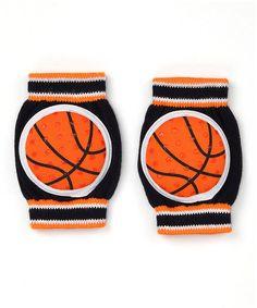 This Blue & Orange Basketball Gripper Kneepads is perfect! #zulilyfinds