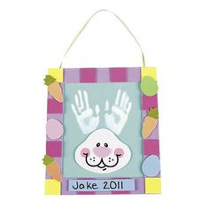 5 Easter Handprint Kits
