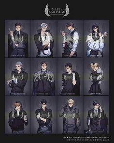 I'm so intrigued by all these mafia-themed images in the Haikyuu fandom. Keep 'em coming!