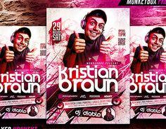 """Check out new work on my @Behance portfolio: """"Dj Party Flyer Konnekt"""" http://be.net/gallery/28723493/Dj-Party-Flyer-Konnekt"""