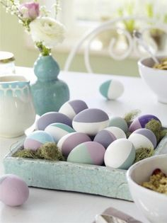 60 Creative Easy DIY Tablescapes Ideas for Easter Family Holiday