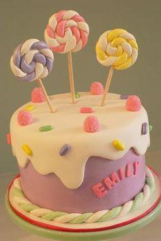 Candy Birthday Cake   Flickr - Photo Sharing!
