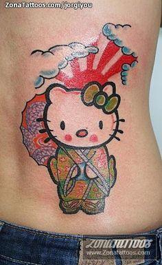 Hello Kitty Tattoos, Cat Tattoo, Cat Tat