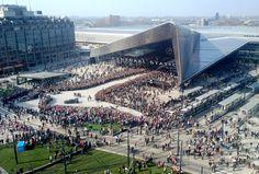 Rotterdam Central Station,© Luke Harley