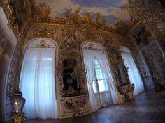 See inside Linderhof Castle in Germany