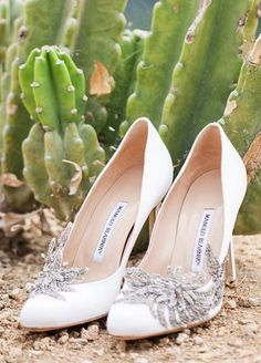 Featured Photographer: Amanda McKinnon; Wedding shoes idea.