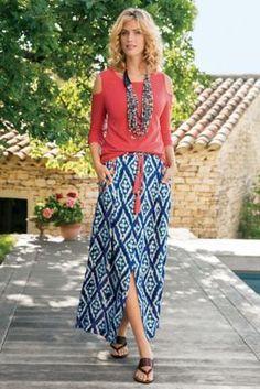 Java Maxi Skirt from Soft Surroundings